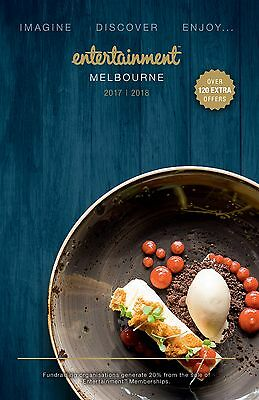Vouchers Only - Melbourne Entertainment Book 2017/2018 - Refer To List