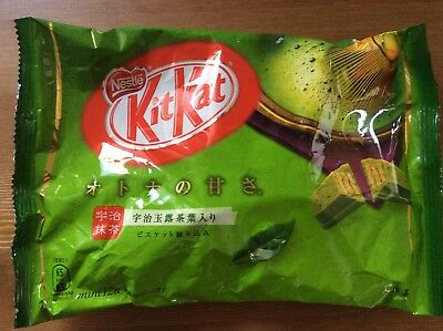 Kit Kat Japan Japon The Vert Green Tea Matcha 1 Pack Snack