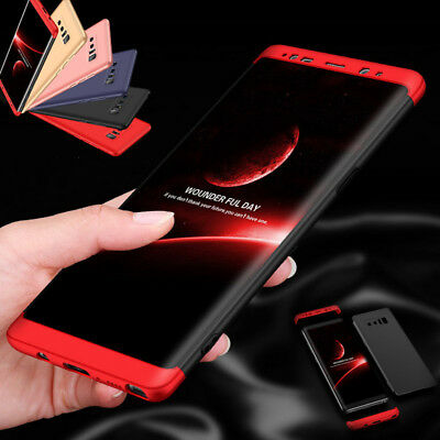 Luxury Slim 360 Full Shockproof Hard Case Cover For Samsung Galaxy Note 8 S8/S8+
