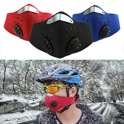 Bike Bicycle Riding PM2.5 Gas Protection Filter Respirator Anti-dust Mask