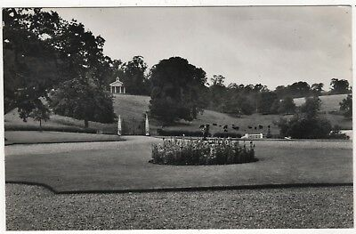 Real Photo Postcard Of  Gardens At Well Hall, Alford, Lincolnshire Posted 1959