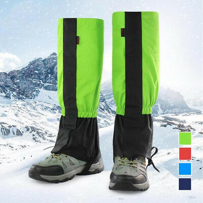 Waterproof Outdoor Climbing Hiking Snow Ski Leg Cover Boot Legging Gaiter Eyeful