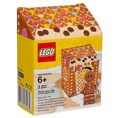 Lego Gingerbread Man 5005156 Christmas Gift 2016 Rare Promo Minifigure Set