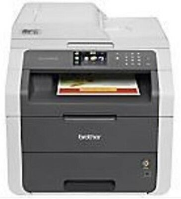 Brother MFC9130CW Wireless All-In-One Printer with Scanner, Copier and Fax.
