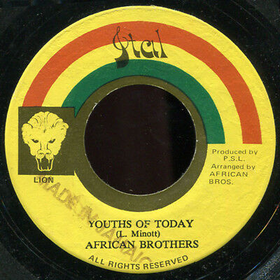 "African Brothers - Youths of Today JA Ital KILLER! 7"" Listen!"