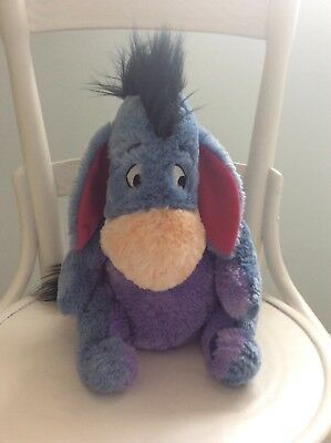 Disney Store Eeyore soft toy approx 12 inches high