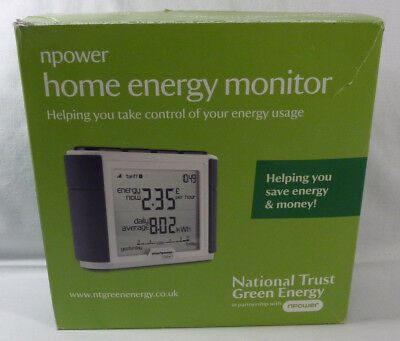 National Trust Green Energy Npower Elite 2.0 Electric Home Energy Monitor