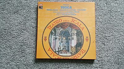Puccini Tosca Boxes Double Album