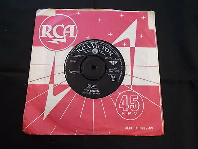 Skip Bifferty - On Love / Cover Girl! 1967 Rca 1621 Rare Uk Psych 45 In C/s Ex!