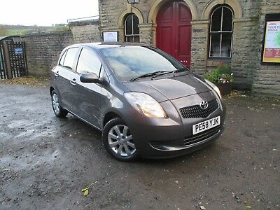 2008/58 TOYOTA YARIS 1.3 VVT-i TR MANUAL 5DR HATCH - 1 LADY OWNER - LOW RESERVE.