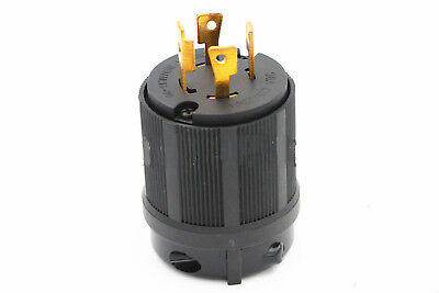 UL Approved  L14-30 Locking Male Plug - 30Amp 125/250 Volt For US