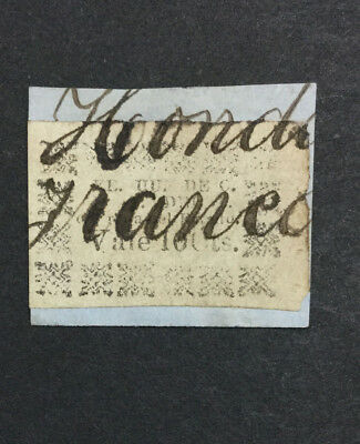 Momen: Colombia Tolima #2 1870 Used $75 Lot #6512