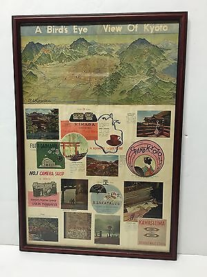 Vintage Kyoto Japan souvenir / advertisement print