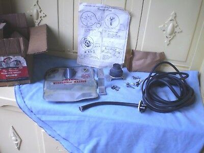 1950-1953 Mercury /  Lincoln ,truck Foot Operated Windshield Washer Awf-9  Nos