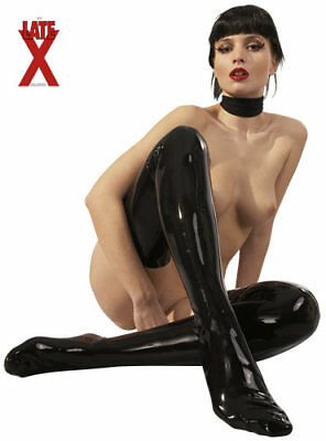 "Calze In Lattice di LateX ""Stockings"" - Nere"