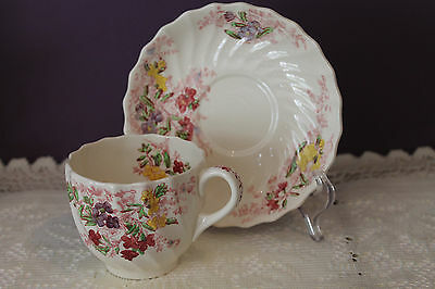 Copeland Spode Fairy Dell Teacup And Saucer