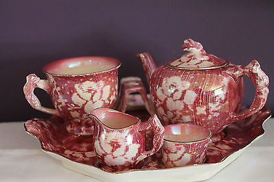Royal Winton Rose Brocade Breakfast Set Made In England