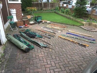 Fishing Rods And Fishing Gear Job Lot All Has To Go Need The Space