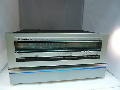 Vintage Tuner Kenwood KT-413 mit automatic sequential tuning (2)
