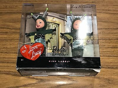 2009 Pink Label Barbie's. I love Lucy Episode #89 Lucy / Martian Mars