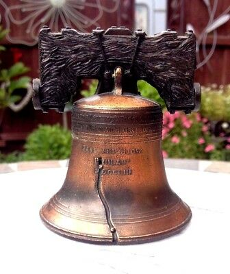 Liberty Bell 'pass And Stow' - Accurate Detailing - Bronze Coloured Cast Metal