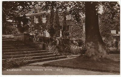 Real Photo Postcard Of The Terrace , Walmsgate Hall, Louth , Lincolnshire