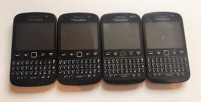 4 X Blackberry 9720 Smartphones - Job Lot - Sold As Faulty / Spares Or Repairs