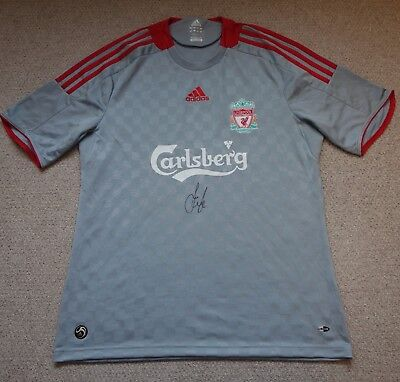 Jamie Carragher Hand Signed Liverpool Football Club Shirt with COA