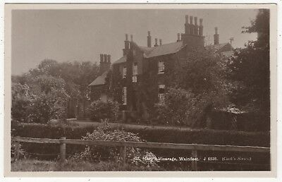 Novice Mill Real Photo Postcard St Mary's Vicarage, Wainfleet  , Lincolnshire