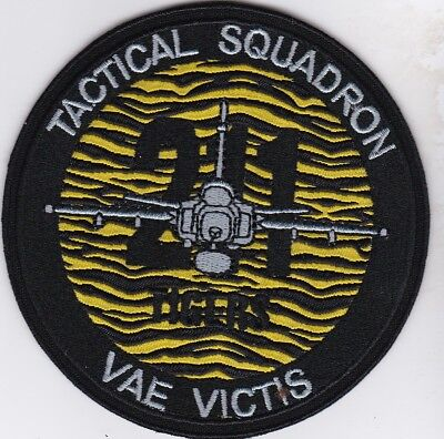 czech air force 211 tiger sqn VAE VICTIS patch