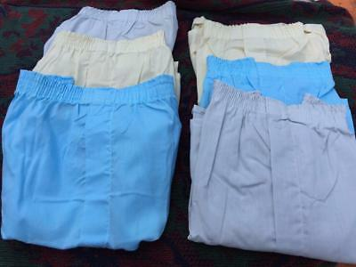 Vintage 70's Lot Of 6 Lee Deadstock Assorted Color Boxers Underwear Usa  Made 38