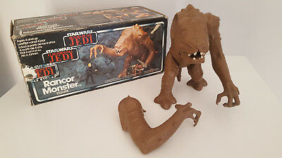 "Star Wars -The Return Of The Jedi ""rancor Monster"" Vintage 1986 / Made In Mexico"