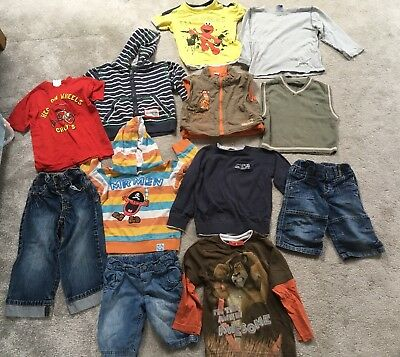 2-3 Years Boys Bundle, From Next, Gap, M&S & More