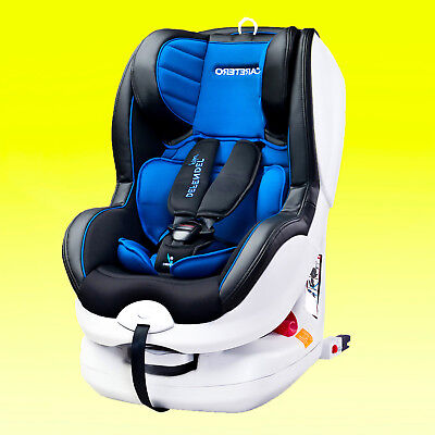 Baby Child Car seat Defender Rear and Forward Facing BLUE 0-18 kg ISO Fix base