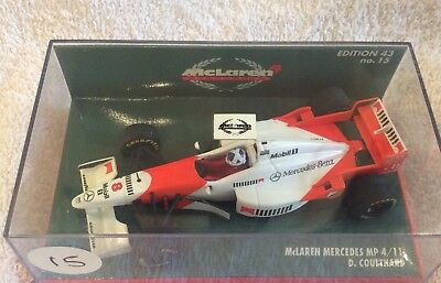 minichamps 1:43. MCLAREN  MP4/11 DAVID COULTHARD