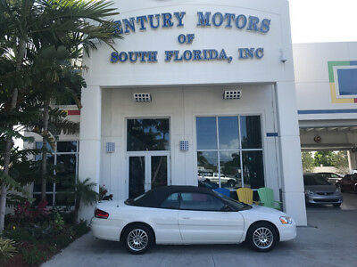 2006 Chrysler Sebring Touring Convertible 2-Door New Convertible Top Leather Suede Cruise