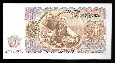 Banknote World, Bulgaria 1 Note Of 50 Leva 1951 Unc , P-85, From Bundle