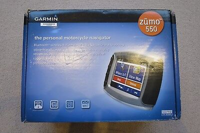 Garmin Zumo 550 Motorcycle Bike GPS and RAM and car mounts