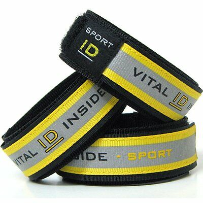 VITAL ID Sports ID Fabric Wristband