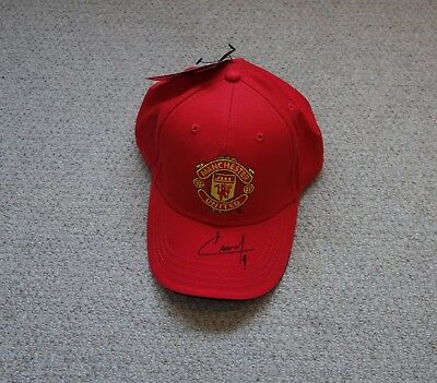 Anthony Martial Hand Signed Manchester United Football Club Cap with COA