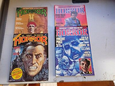 Hammers Halls Of Horror  21/22/26/27/28/ 29  From 1978