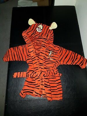 Tigger dressing gown 0-3 months unisex