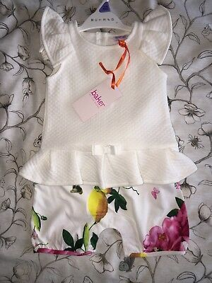 Ted Baker Baby Romper 6-9 Months