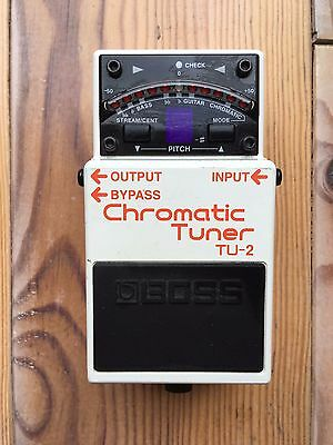 Boss TU-2 Chromatic Guitar and Bass Tuner