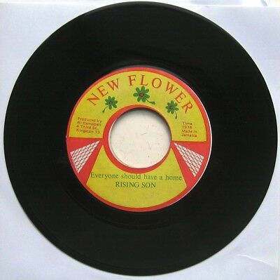 RISING SON / EVERYONE SHOULD HAVE A HOME / Everyone Dub  [NEW FLOWER]  ORIG. 7""