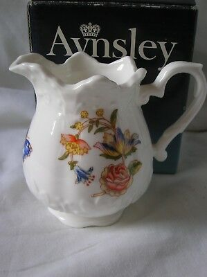 Lovely Aynsley 'Cottage Garden' cream jug in original box
