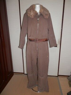 WW2 Japanese Army Flight suit for winter of army air force.1942