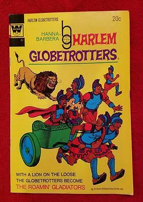 Harlem Globetrotters #7 Hanna Barbera Roamin Gladiators 1973 Whitman Gold Key