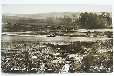 ASHDOWN FOREST BUTLERS BANK 1913 PHOTO POSTCARD SAYERS BROS No 298 GOLF GREEN