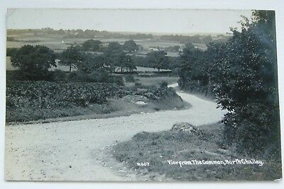 North Chailey View From The Common 1912 Photo Postcard Sussex W607